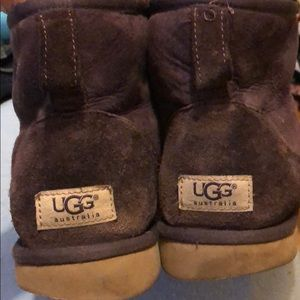 UGG BOOTS purple color